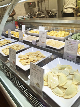 Eataly Italian Restaurant Pasta in Chicago
