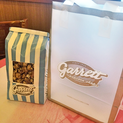 Garrett Popcorn Shop in Chicago
