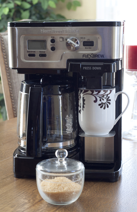 Hamilton Beach 2-Way FlexBrew Coffee Maker Review and Giveaway.