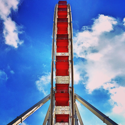Ferris Wheel in Chicago at the Navy Pier