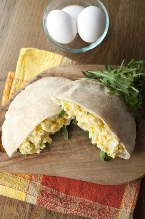 This easy, creamy, classic egg salad recipe is great for using up hard-boiled eggs after Easter.