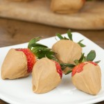 Peanut Butter Covered Strawberries are perfect for Valentine's day, date night, or any summer party!