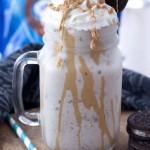 Peanut Butter Cup Oreo Milkshake