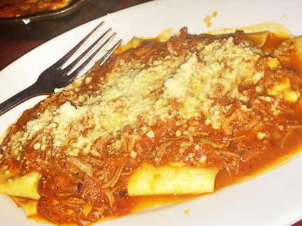Review on Pasta dinner at Quartino Italian Restaurant in downtown Chicago