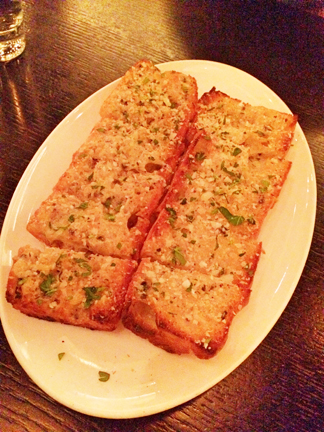 Truffle garlic bread at Avec restaurant in Chicago, Illinois