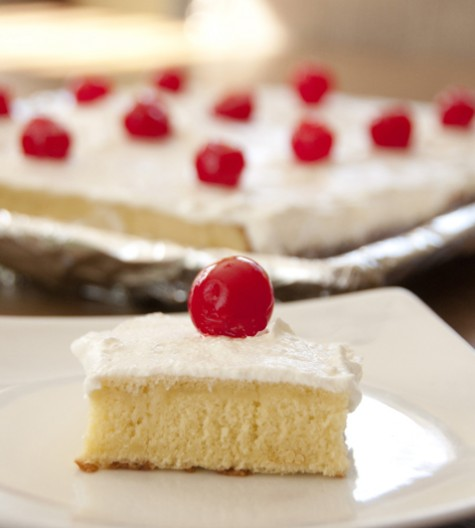 Tres Leches cake is the perfect dessert for Cinco de Mayo or summer celebrations.