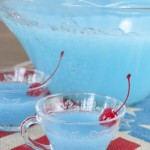 Blue Piña Colada Party Punch