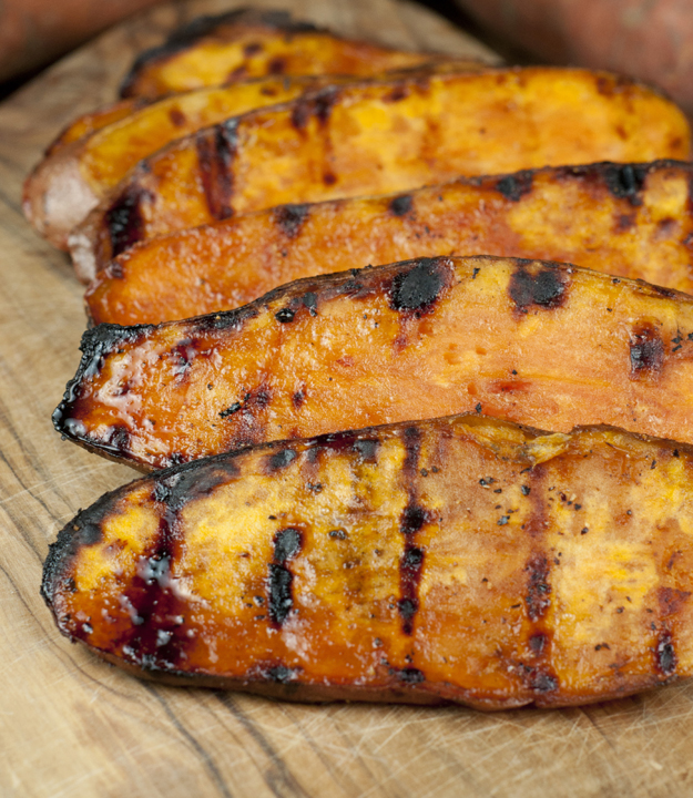 Grilled Sweet Potatoes recipe is a great side dish for any dinner or lunch.