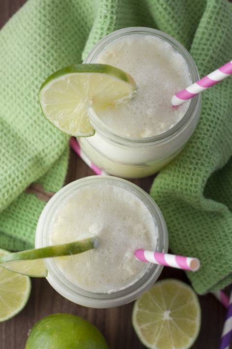 Non-alcoholic Blender Limeade recipe, also known as Brazilian Lemonade, takes 2 minutes in the blender and is a nice refreshing drink in the summer.
