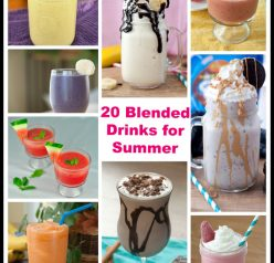 A frozen drink can make a scorching summer day not so bad after all. You'll love my collection of frozen drink recipes - from coffee beverages and fruit smoothies, to boozy drinks. It's all here!
