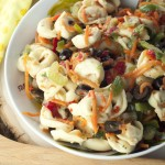 Cheese Tortellini Salad with Honey Vinaigrette