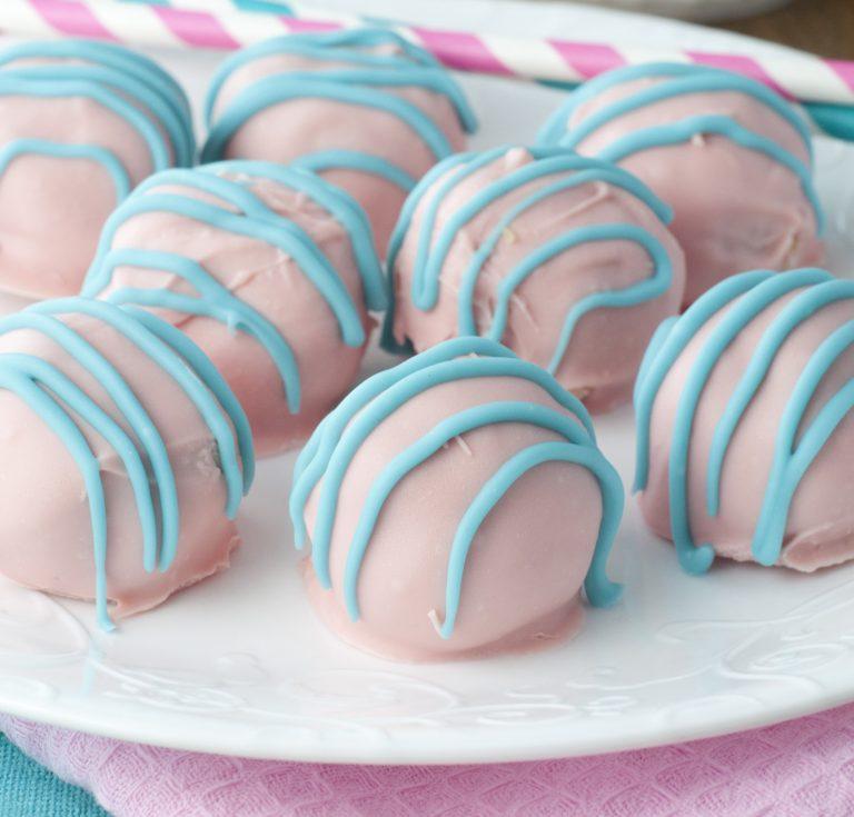 Cotton Candy Oreo Truffles