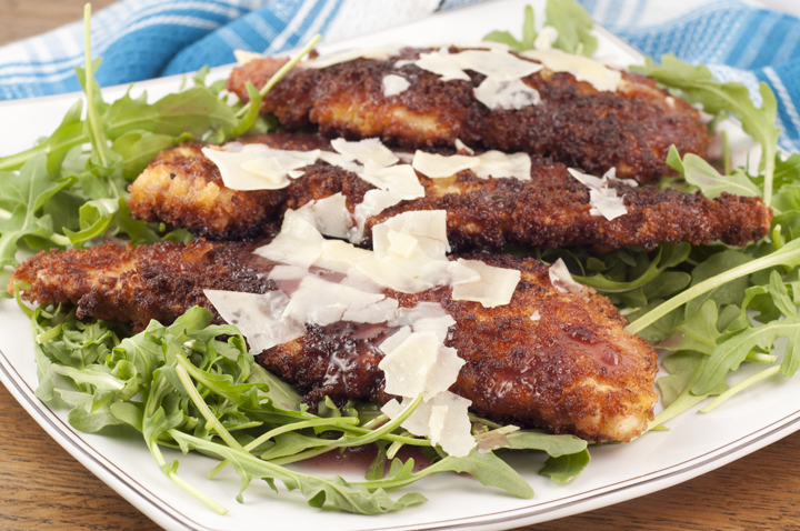 This is a recipe for my favorite Breaded Chicken Cutlets.  It's simple to make for weeknight suppers and is very moist and tender!