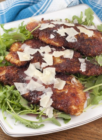 I'm sharing the recipe for my absolute Favorite Breaded Chicken Cutlets. It's a great, quick and easy dinner idea for those nights when you have no idea what to make for your family!