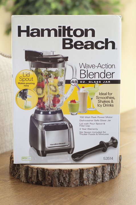 Hamilton Beach Wave-Action Blender Product Review and Giveaway