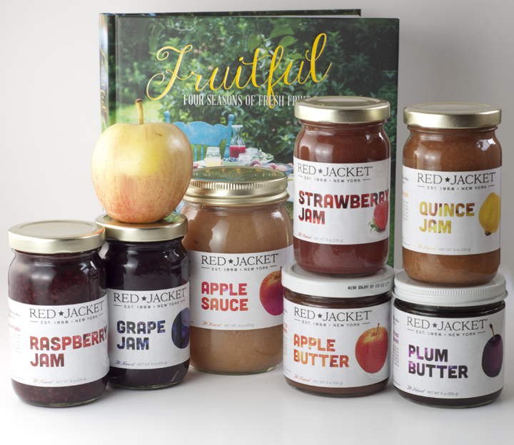 Red Jacket Orchards Farm Store Pantry Items, Cookbook and Jams
