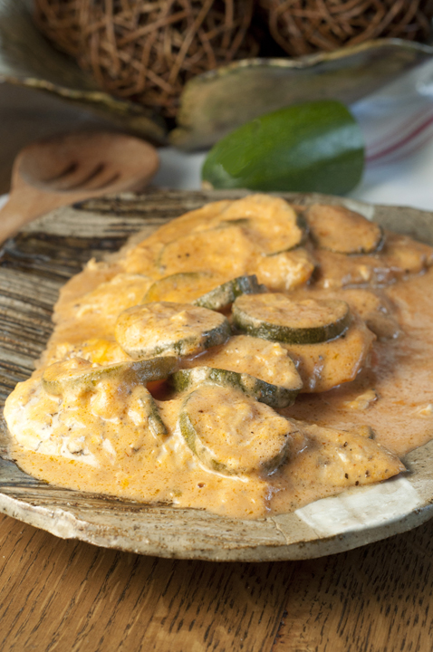 Creamy Italian Chicken And Zucchini Skillet All Made In One Pan With A Delicious Creamy Tomato