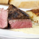 Filet Mignon with Blender Bearnaise Sauce