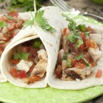 Grilled Chicken Fresco Soft Tacos