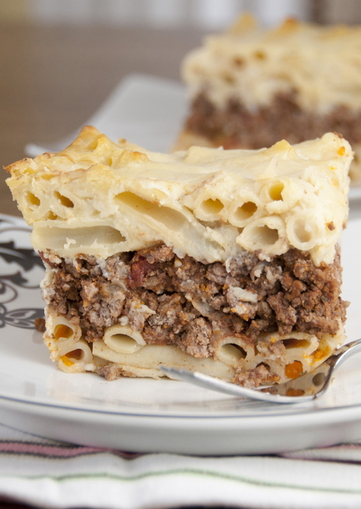 Pastitsio (Greek Pasta Bake) Recipe — Dishmaps