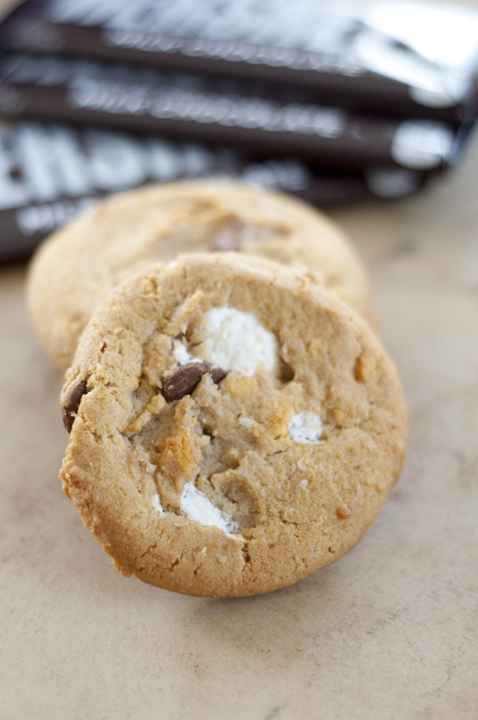 Peanut Butter S'mores Cake Cookies Recipe — Dishmaps