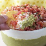 Triple Layer Mexican Party Dip