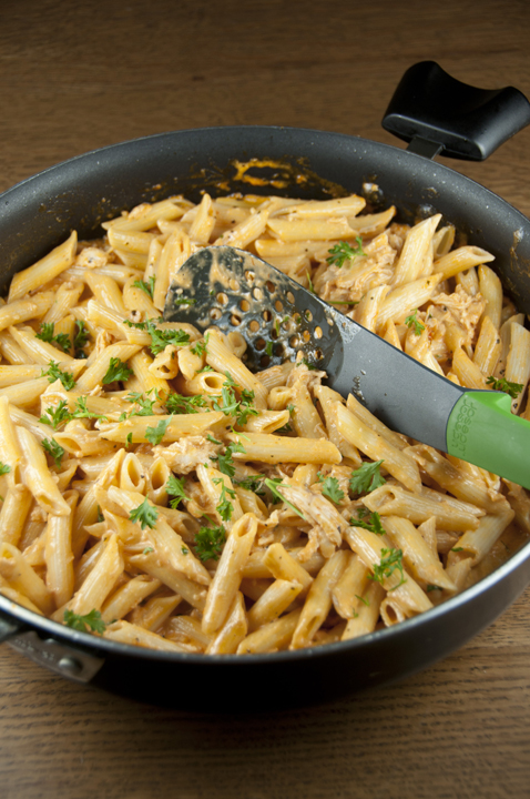 Easy Pasta with Tomato Cream Sauce makes a great weeknight dinner when ...