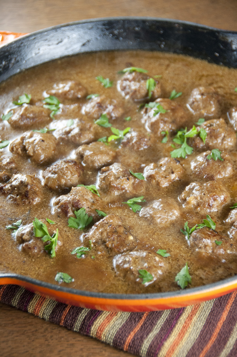 Jun 30,  · The Best Swedish Meatballs and Gravy are made with a combination of ground pork and beef and spiced to perfection for a flavorful meatball and with a rich and flavorful gravy to go with it! This recipe took quite a number of rounds of testing, but I'm happy to say I've finally perfected the Swedish Meatball.5/5(2).