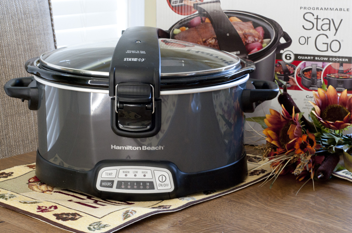 Hamilton Beach Stay or Go Slow Cooker Review and Giveaway