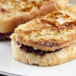 Leftover Turkey-Cranberry Monte Cristo Sandwich