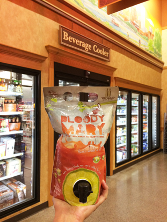 LiDestri Bloody Mary cocktail at Wegmans!
