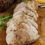 Pork Tenderloin with Apple Cider Reduction  + Pass the Pork Tour!