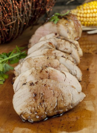 An easy, juicy Pork Tenderloin with Apple Cider Reduction glaze that comes out so perfect every time and is a great recipe for the Thanksgiving or Christmas.