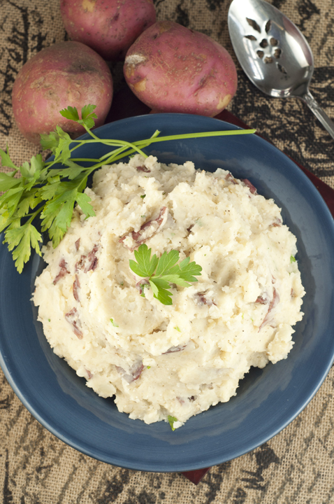 how to make garlic mashed potatoes in crock pot