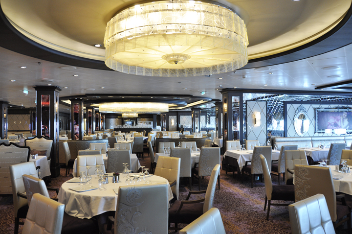 Chic Restaurant, Anthem of the seas dining room.