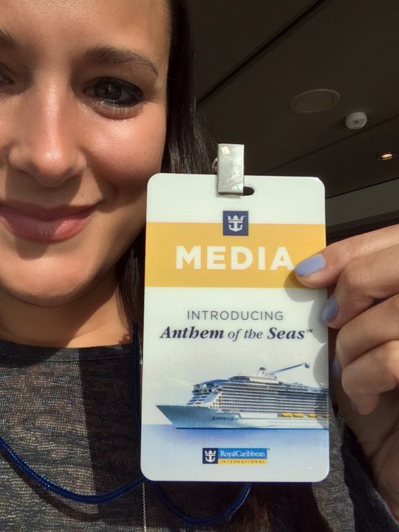 Media Cruise, Anthem of the Seas