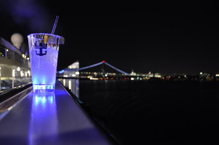 Drinks on Anthem of the Seas, Manhattan Hudson River