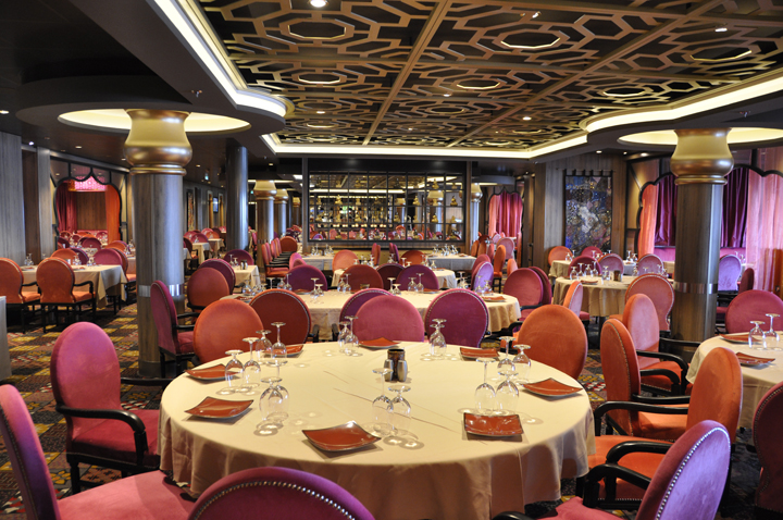 Silk Restaurant, Anthem of the Seas