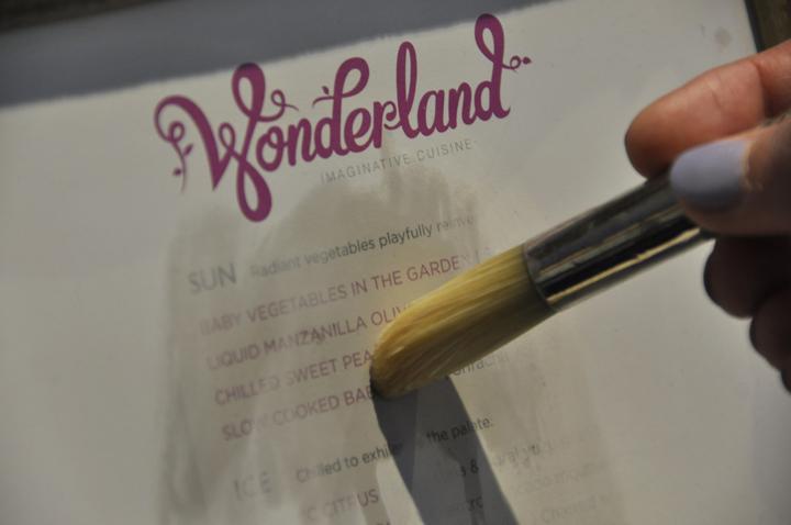 Wonderland Menu, Anthem of the Seas