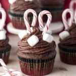 Chocolate Cupcakes and Hot Chocolate Buttercream