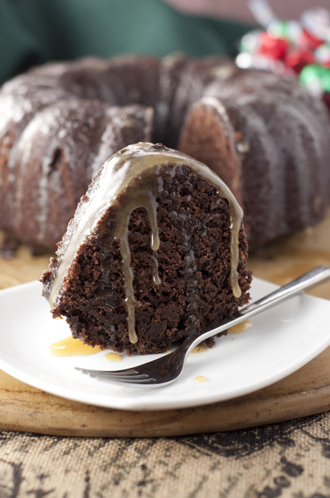 Rum Soaked Chocolate Cake Recipe