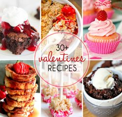 30+ Valentine's Day Dessert Recipes to celebrate with those you love. There are plenty of red, pink and chocolate desserts to go around here!