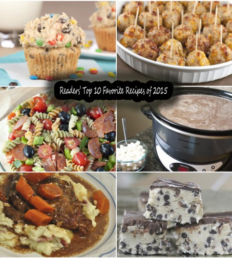 A roundup of the most popular recipe on my blog posts from 2015 - dinners, desserts, side dishes, and more!