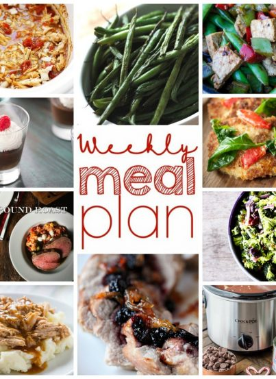 Easy Weekly Meal Plan for January 17– January 23 to help get you new and fresh ideas to keep dinner exciting for your family!