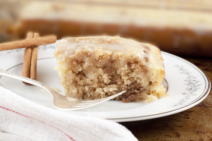 The Best Completely Homemade Cinnamon Bun Cake Recipe Is Flavors Of Buns In No