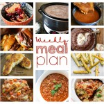 Weekly Meal Plan February 21 – February 27. Ten great bloggers teaming up to provide you with a variety of recipes including main course, sides dishes, and desserts for the whole week!