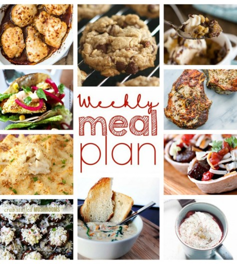 Weekly Meal Plan February 7 - February 13 is here for you! Get those meal ideas together, plan ahead, and have an easy week of dinner recipes ready to go.