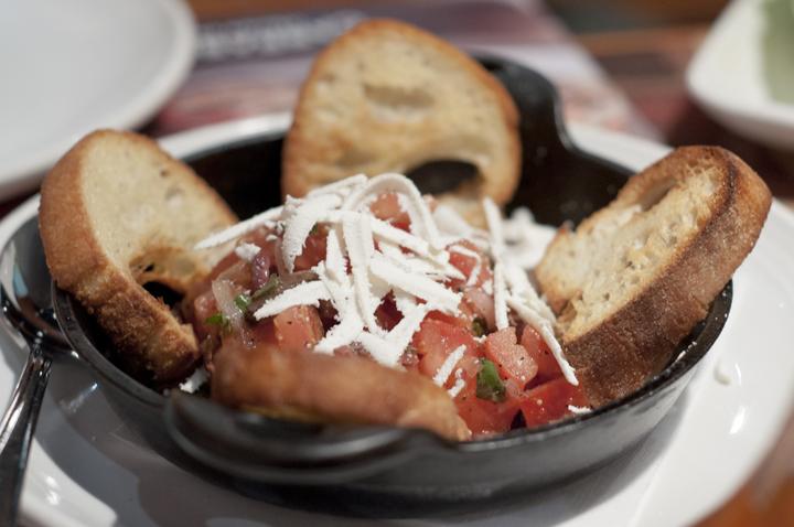 Bruschette Siciliani at Carrabba's Italian Grill