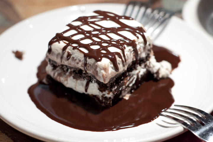 "Sogno Di Cioccolata ""Chocolate Dream"" chocolate brownie at Carrabba's Italian Grill"
