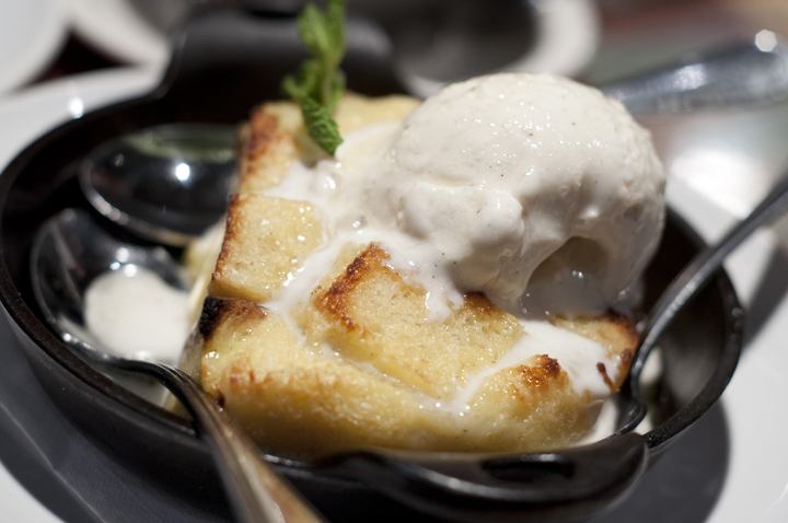 Limoncello Bread Pudding at Carrabba's Italian Grill
